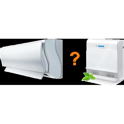 Компактная приточная вентиляция и кондиционер